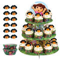 Dora the Explorer Cupcake Kit For 24