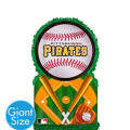 Giant Pittsburgh Pirates Pinata 22in x 22in