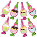 Cupcake Party Blowouts 8ct