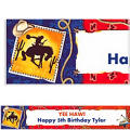 Wild West Custom Banner 6ft