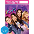iCarly Favor Bags 8ct