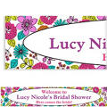 Floral Chic Custom Banner 6ft