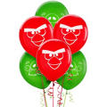 Latex Angry Birds Balloons 12in 6ct