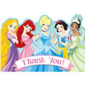 Disney Princess 1st Birthday Thank You Notes 8ct