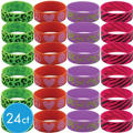 Giant Trendy Wristbands 24ct