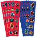 Power Rangers Stickers 8 Sheets