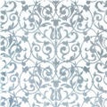 Silver Brocade Printed Tissue Paper 8ct