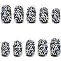 Zebra Print Nails