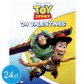 Toy Story Valentines Day Cards 24ct