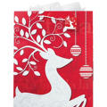 Extra Large Reindeer Gift Bag 18in