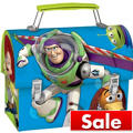 Toy Story Blue Metal Lunch Box