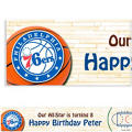 Philadelphia 76ers Custom Banner 6ft