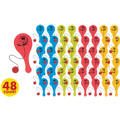 Cars Mini Paddle Balls 48ct