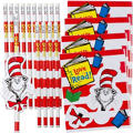 Cat in the Hat Pencils with Note Cards 16ct