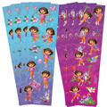 Dora the Explorer Stickers 8 Sheets