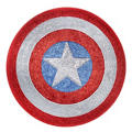Child American Dream Glitter Shield 13 1/2in
