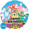 Foil Yo Gabba Gabba Singing Balloon 28in