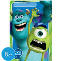 Monsters University Favor Bags 8ct
