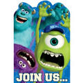 Monsters University Invitations 8ct