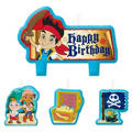 Jake and the Never Land Pirates Birthday Candles 4ct