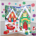 Santa's Workshop Wall Decorations 32pc