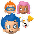 Paper Bubble Guppies Masks 8ct
