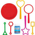 Geometric Bubble Wand Set 8pc