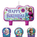 Frozen Birthday Candles 4ct
