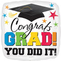 Congrats Grad Graduation Balloon