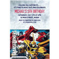 Transformers Core Custom Invitation