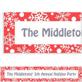 Winter Holiday Custom Christmas Banner