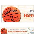 NBA Spalding Custom Banner