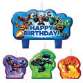 Skylanders Birthday Candles 4ct