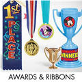 Award Ribbons & Buttons