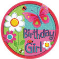 Garden Girl Party Supplies