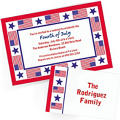Custom Patriotic Invitations & Thank You Notes
