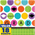 Colorful Commencement Graduation Party Supplies