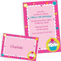 Custom Cupcake Party Invitations & Thank You Notes