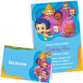 Custom Bubble Guppies Invitations & Thank You Notes
