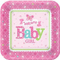 Girl Welcome Baby Party Supplies – Pink Little One