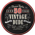 Vintage Dude 50th Birthday Party Supplies