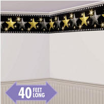 Hollywood Stars Border Roll 40ft