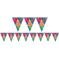 Happy Birthday Pennant Banner 12ft