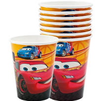 Cars 2 Cups 8ct