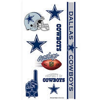 Dallas Cowboys Tattoos 10ct