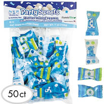 1st Birthday Boy Pillow Mints 50ct
