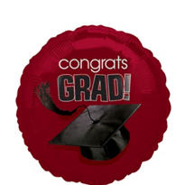 Foil Berry Congrats Grad Graduation Balloon