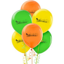 Latex Backyardigans Balloons 12in 6ct