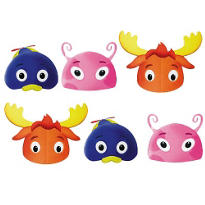 The Backyardigans Masks 6ct