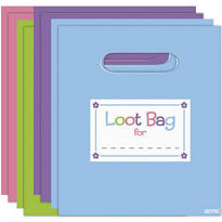 Trendy Favor Bags Assorted 8ct